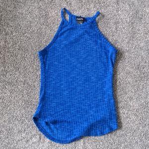 Blue tank top